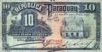 10 Paragvajaus pesų.