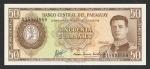 50 Paragvajaus gvaranių.