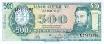 500 Paragvajaus gvaranių.