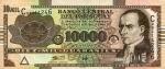 10000 Paragvajaus gvaranių.