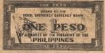 1 Filipinų pesas.
