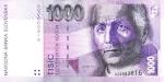 1000 Slovakijos kronų.