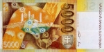 5000 Slovakijos kronų.