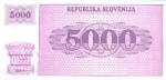 500 Slovėnijos tolarų.