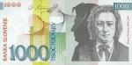 1000 Slovėnijos tolarų.
