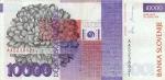 10000 Slovėnijos tolarų.