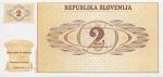 2 Slovėnijos tolarai.