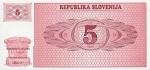 5 Slovėnijos tolarai.