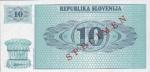 10 Slovėnijos tolarų.