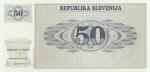 50 Slovėnijos tolarų.