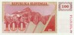 100 Slovėnijos tolarų.