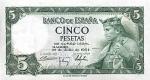 5 Ispanijos pesetų.