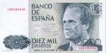 10000 Ispanijos pesetų.