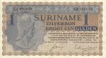 1 Surinamo guldenas.
