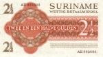 2,5 Surinamo guldeno.