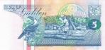 5 Surinamo guldenai.