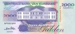 2000 Surinamo guldenų.