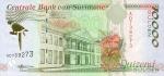 10000 Surinamo guldenų.