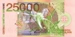 250000 Surinamo guldenų.