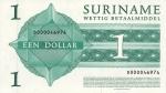 1 Surinamo doleris.