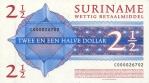 2,5 Surinamo dolerio.