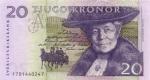 20 Švedijos kronų.