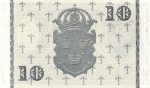 10 Švedijos kronų.