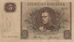 5 Švedijos kronos.