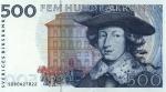 500 Švedijos kronų.