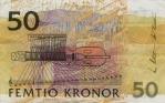 50 Švedijos kronų.