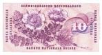 10 Šveicarijos frankų.