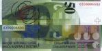 50 Šveicarijos frankų.