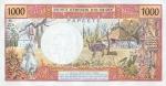 1000 Taičio frankų.