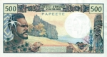 500 Taičio frankų.