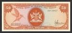 50 Trinidado ir Tobago dolerių.