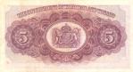 5 Trinidado ir Tobago doleriai.