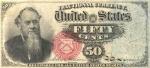 50 JAV centų.