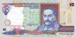 10 Ukrainos grivinų.