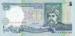 5 Ukrainos grivinai.