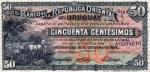 50 Urugvajaus sentesimų.