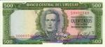 500 Urugvajaus pesų.