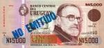 5000 Urugvajaus naujųjų pesų.