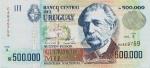 500000 Urugvajaus naujųjų pesų.