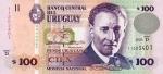 100 Urugvajaus pesų.