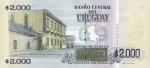 2000 Urugvajaus pesų.