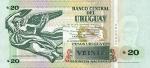20 Urugvajaus pesų.