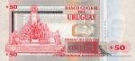 50 Urugvajaus pesų.