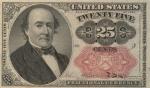 25 JAV centų.