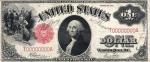 1 JAV doleris.