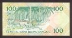 100 Vanuatu vatu.